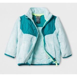 18M Aqua and Teal Champion Fleece Jacket